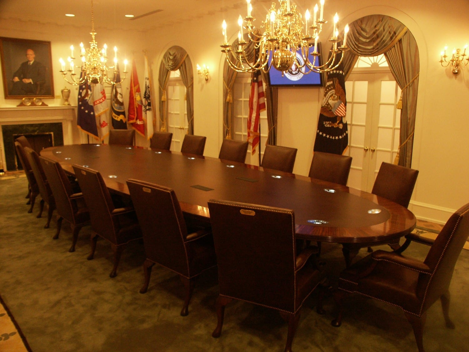 President Ford S Cabinet Room Mad Systems
